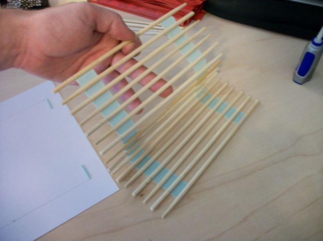360Поделки из китайских палочек для суши своими руками