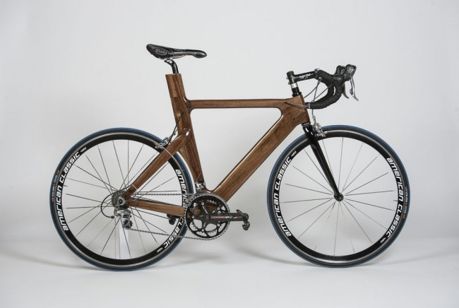 Деревянный велосипед своими руками