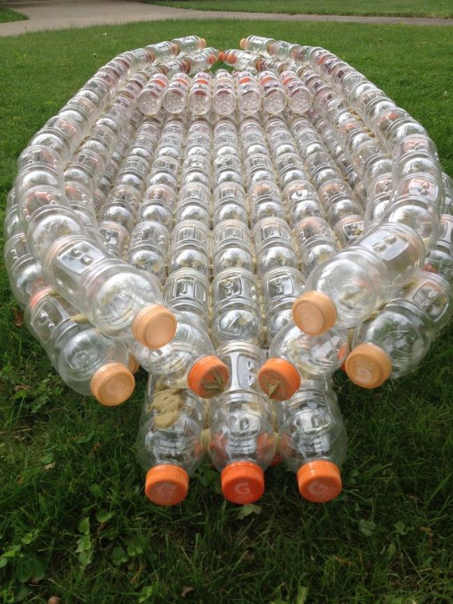 Видео из пластиковых бутылок своими руками