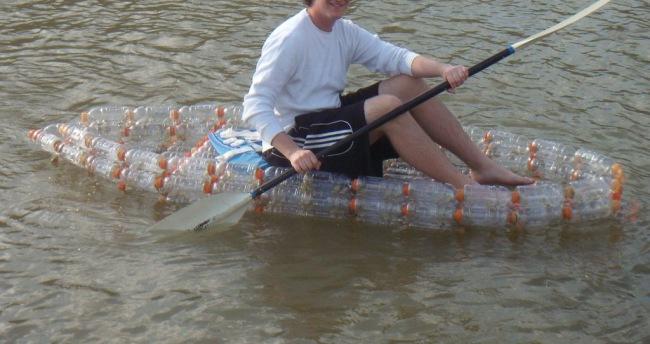 как делать пластиковые лодки видео
