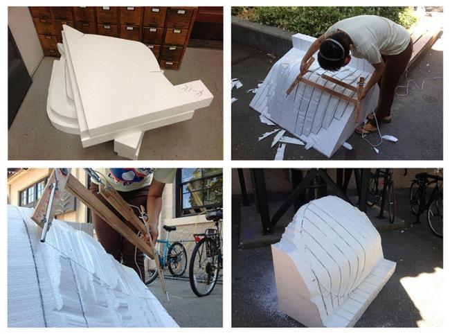 Как сделать кресло из пенопласта